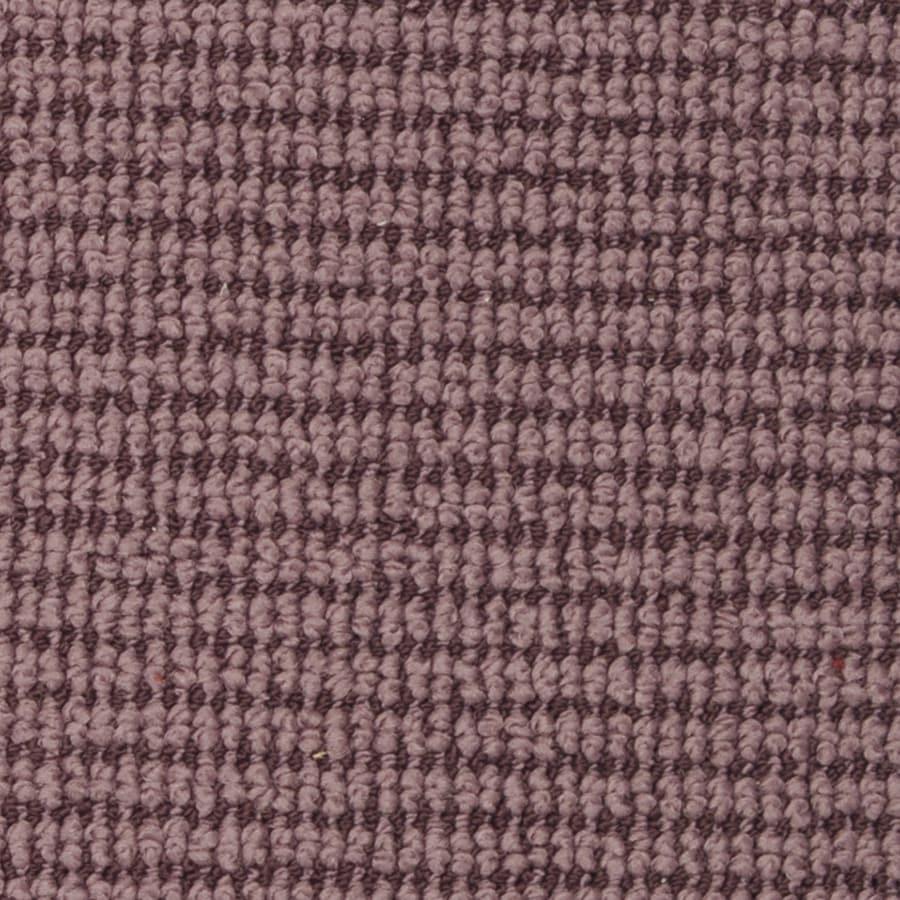 STAINMASTER Active Family Morning Glory Deep Pongee Berber/Loop Carpet Sample