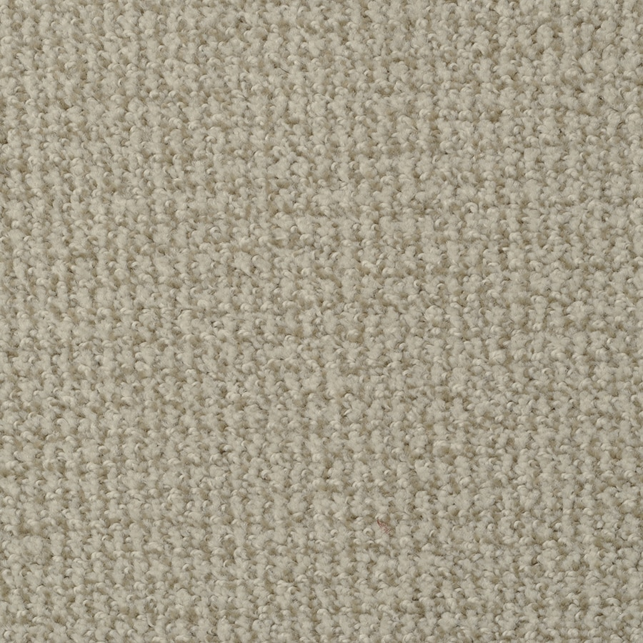 STAINMASTER Active Family Morning Jewel Doeskin Berber/Loop Carpet Sample