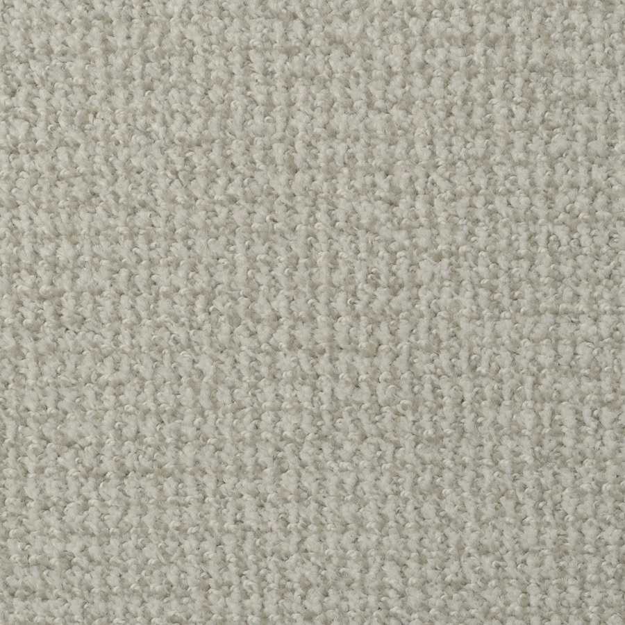 STAINMASTER Active Family Morning Jewel Sea Water Berber/Loop Carpet Sample