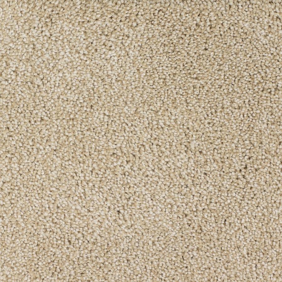 STAINMASTER TruSoft Shafer Valley Cream/Beige/Almond Carpet Sample