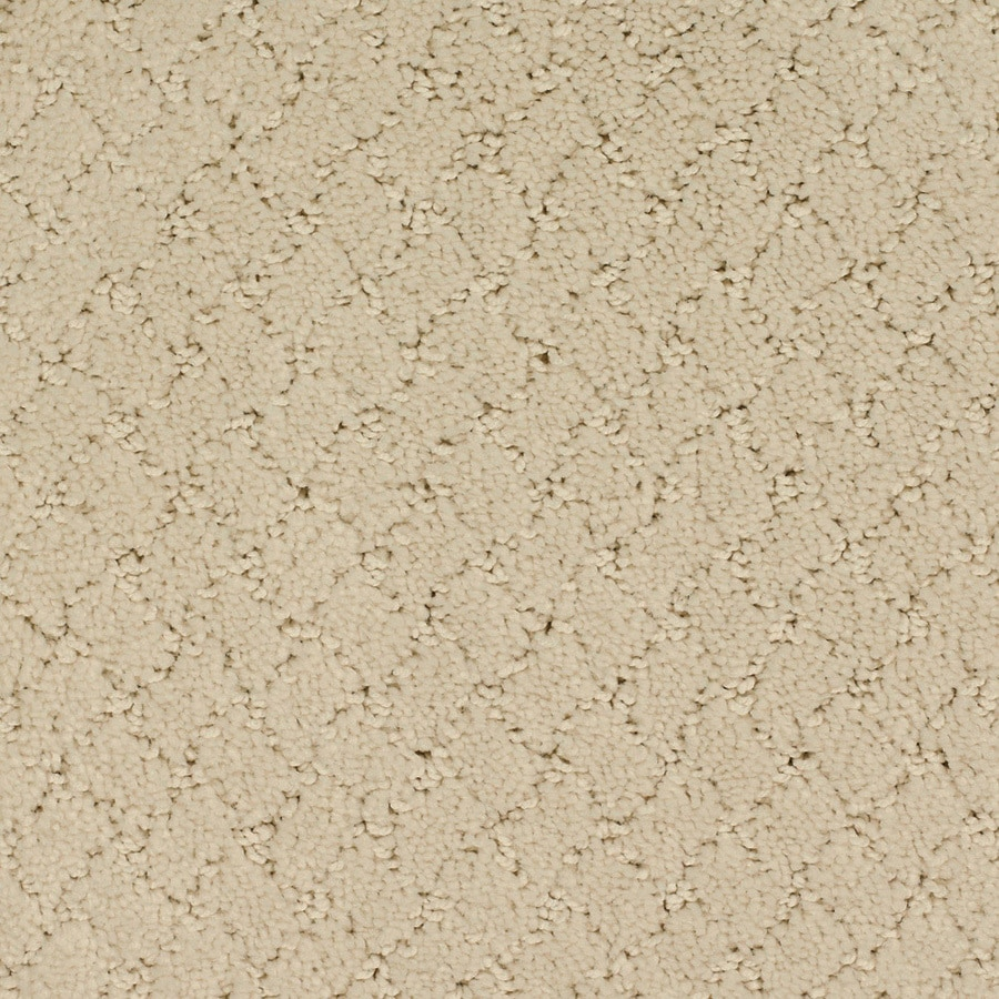 STAINMASTER TruSoft Galesburg Cream/Beige/Almond Carpet Sample