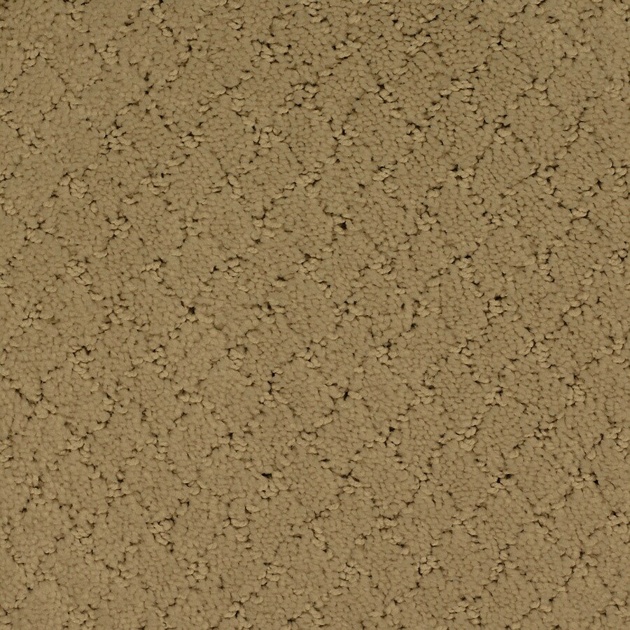 STAINMASTER TruSoft Galesburg Yellow/Gold Carpet Sample