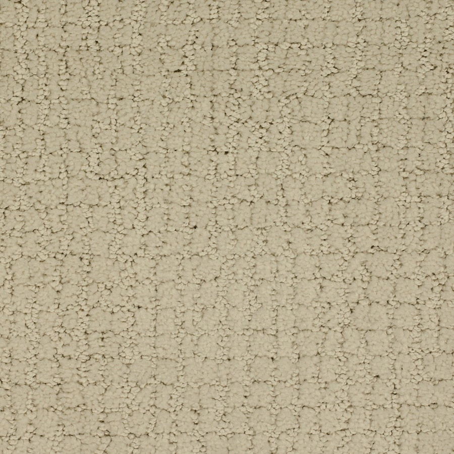 STAINMASTER TruSoft Perpetual Cream/Beige/Almond Carpet Sample