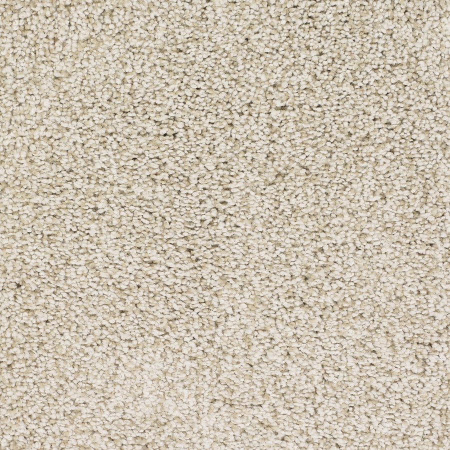 STAINMASTER TruSoft Chimney Rock Cream/Beige/Almond Carpet Sample