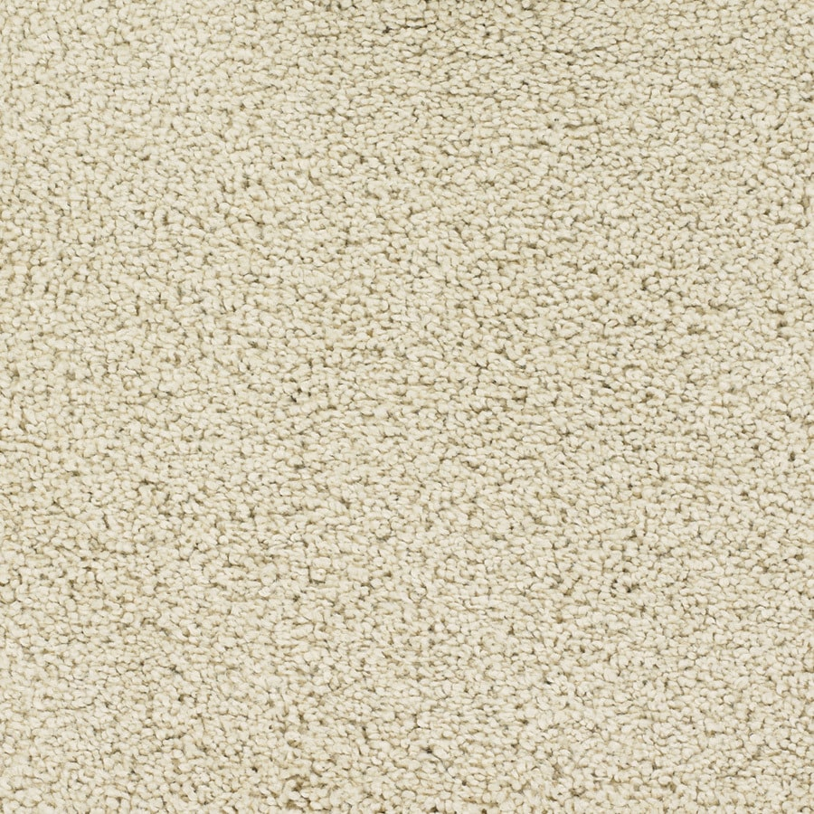 STAINMASTER Chimney Rock TruSoft Cream/Beige/Almond Plus Carpet Sample