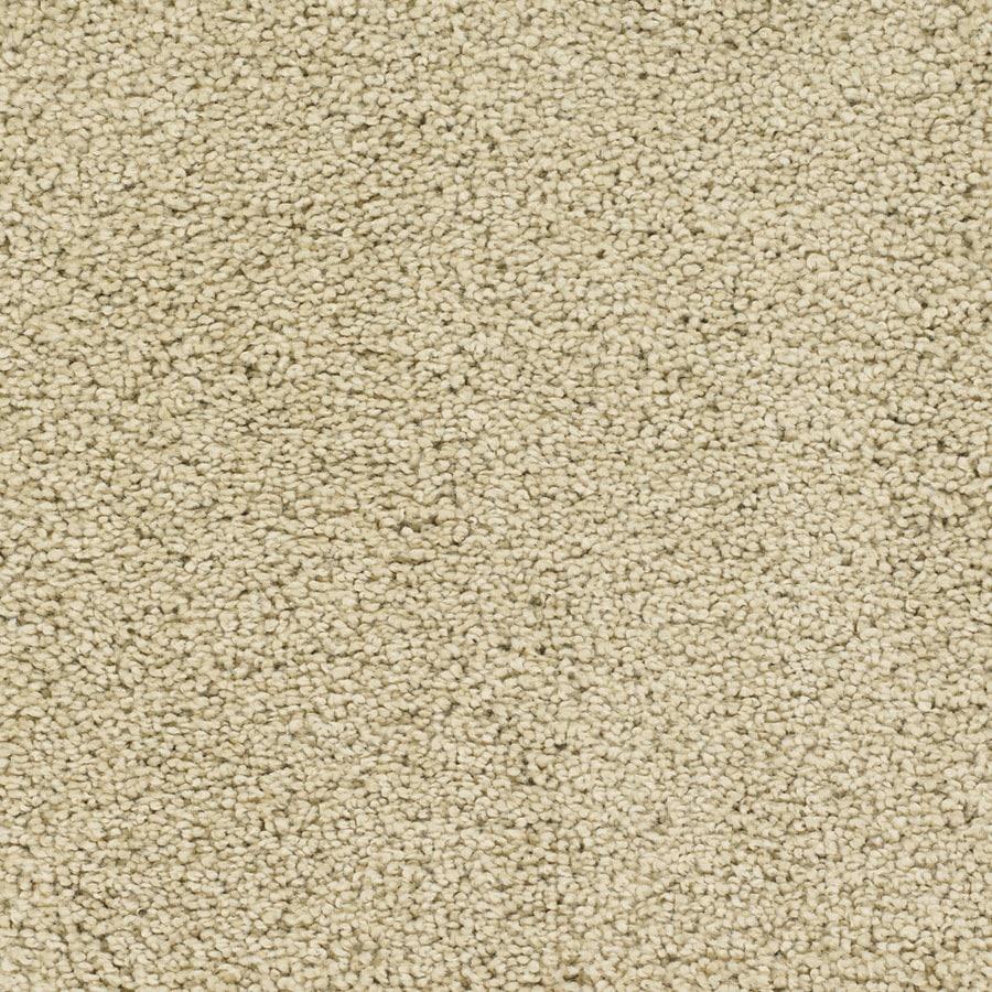 STAINMASTER TruSoft Chimney Rock Cream/Beige/Almond Carpet Sample