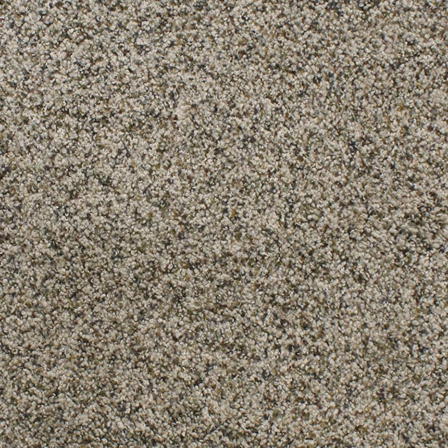 STAINMASTER TruSoft Luminosity Cream/Beige/Almond Carpet Sample
