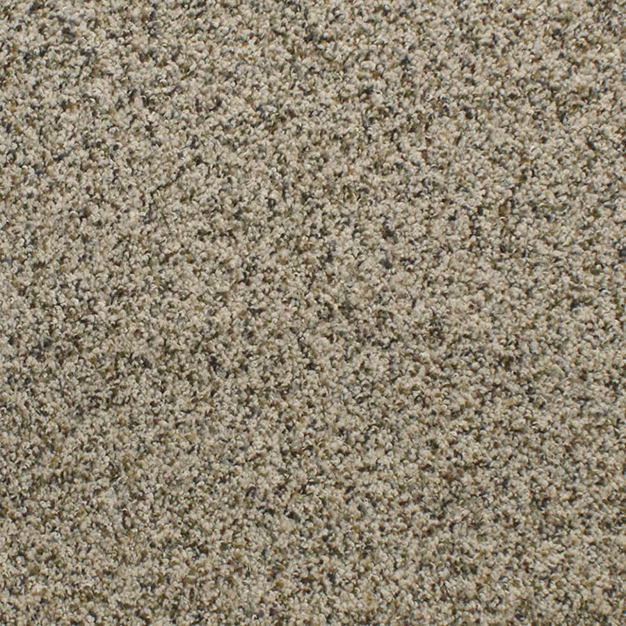 STAINMASTER Luminosity Trusoft Cream/Beige/Almond Plus Carpet Sample