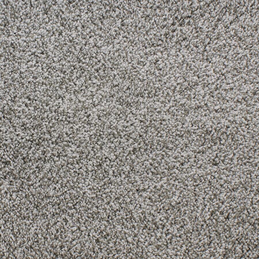 STAINMASTER TruSoft Luminosity Brown/Tan Plush Carpet Sample