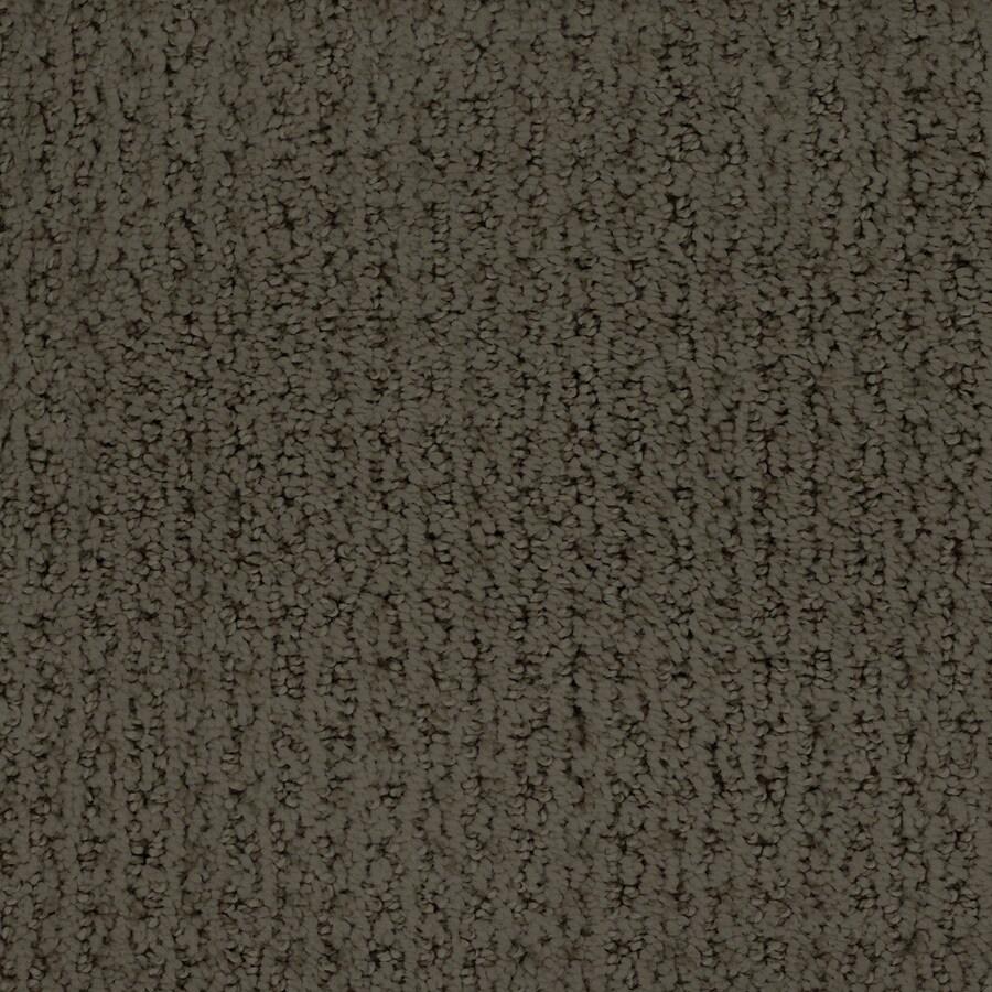 STAINMASTER TruSoft Salena Brown/Tan Carpet Sample