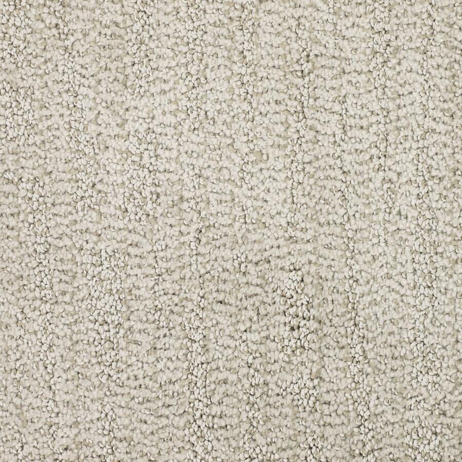 STAINMASTER TruSoft Regatta Cream/Beige/Almond Carpet Sample