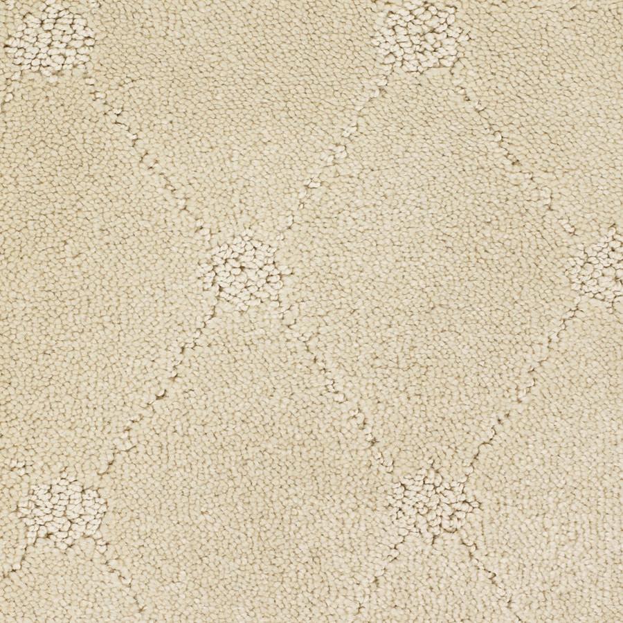 STAINMASTER TruSoft Columbia Valley Cream/Beige/Almond Carpet Sample