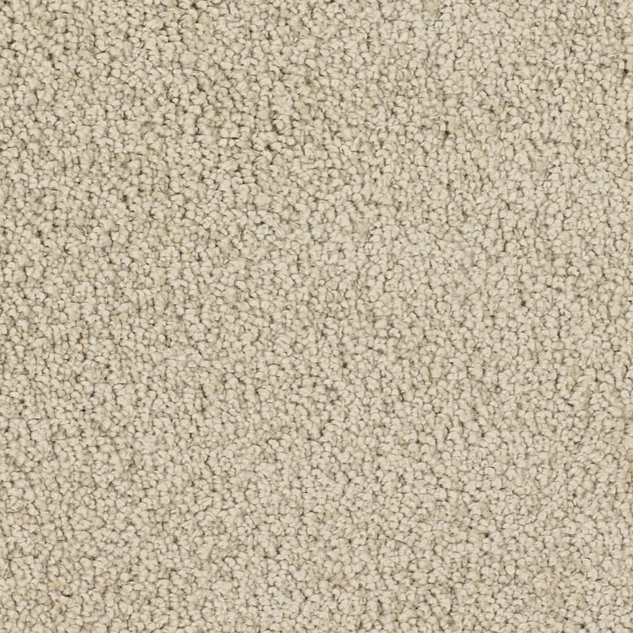 STAINMASTER TruSoft Pomadour Cream/Beige/Almond Carpet Sample