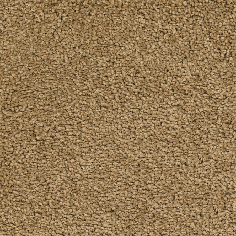 STAINMASTER TruSoft Pomadour Yellow/Gold Plush Carpet Sample