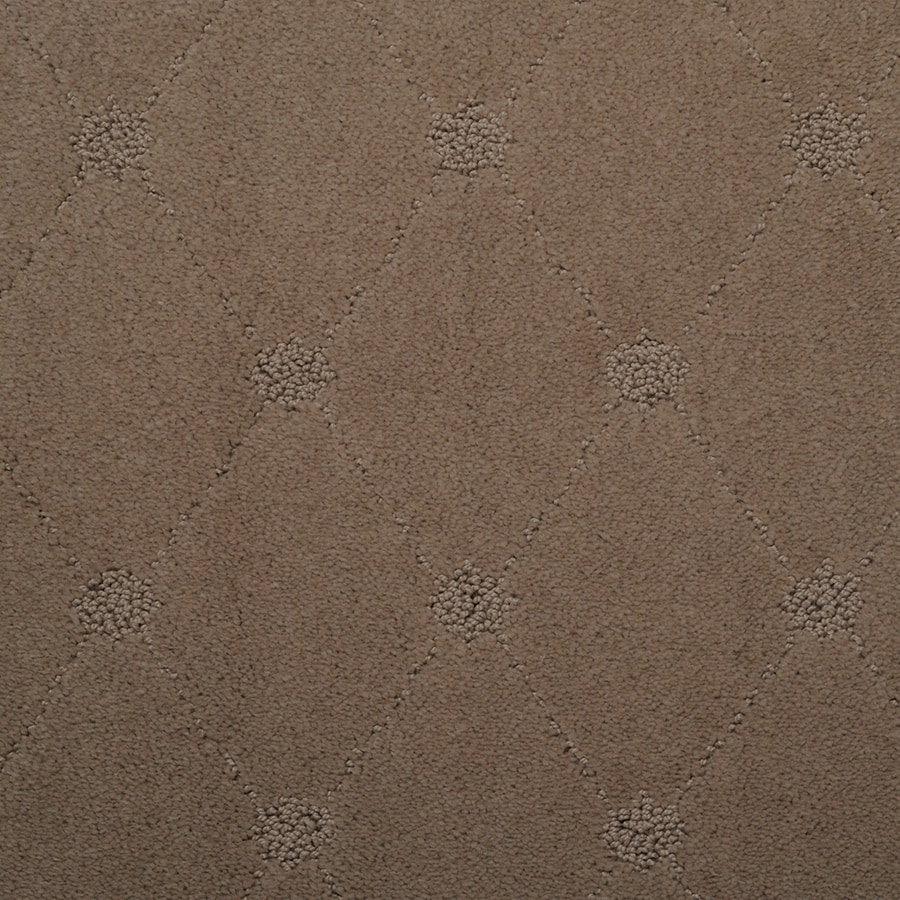STAINMASTER TruSoft Hunts Corner Raffia Berber/Loop Carpet Sample