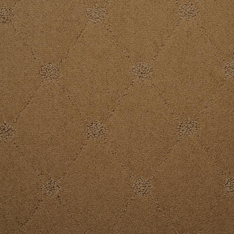 STAINMASTER Hunts Corner TruSoft Meadow Cut and Loop Carpet Sample