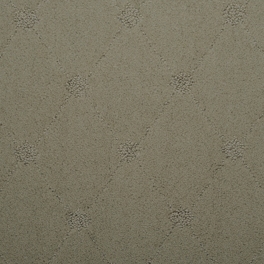 STAINMASTER Hunts Corner TruSoft Squish Cut and Loop Carpet Sample