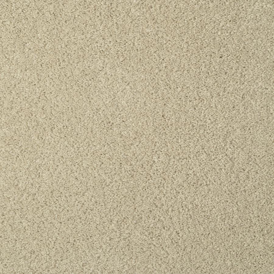 STAINMASTER Best of Class TruSoft Sand Castle Cut and Loop Carpet Sample