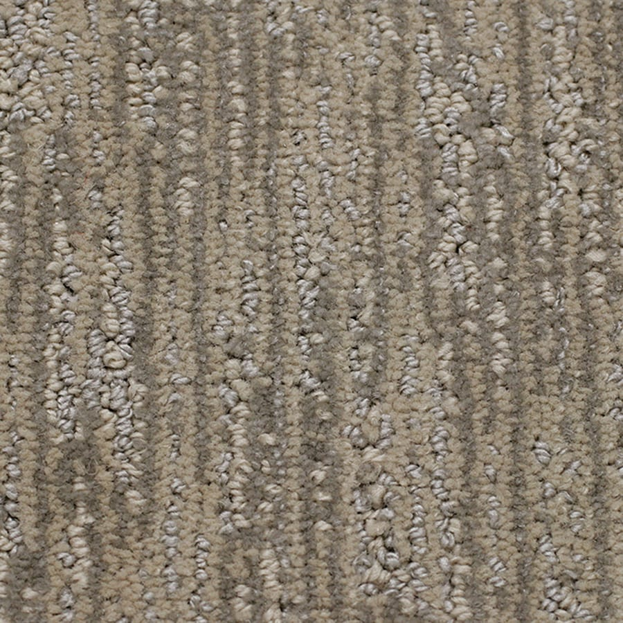 STAINMASTER Imagination Essentials Sand Dunes Cut and Loop Carpet Sample