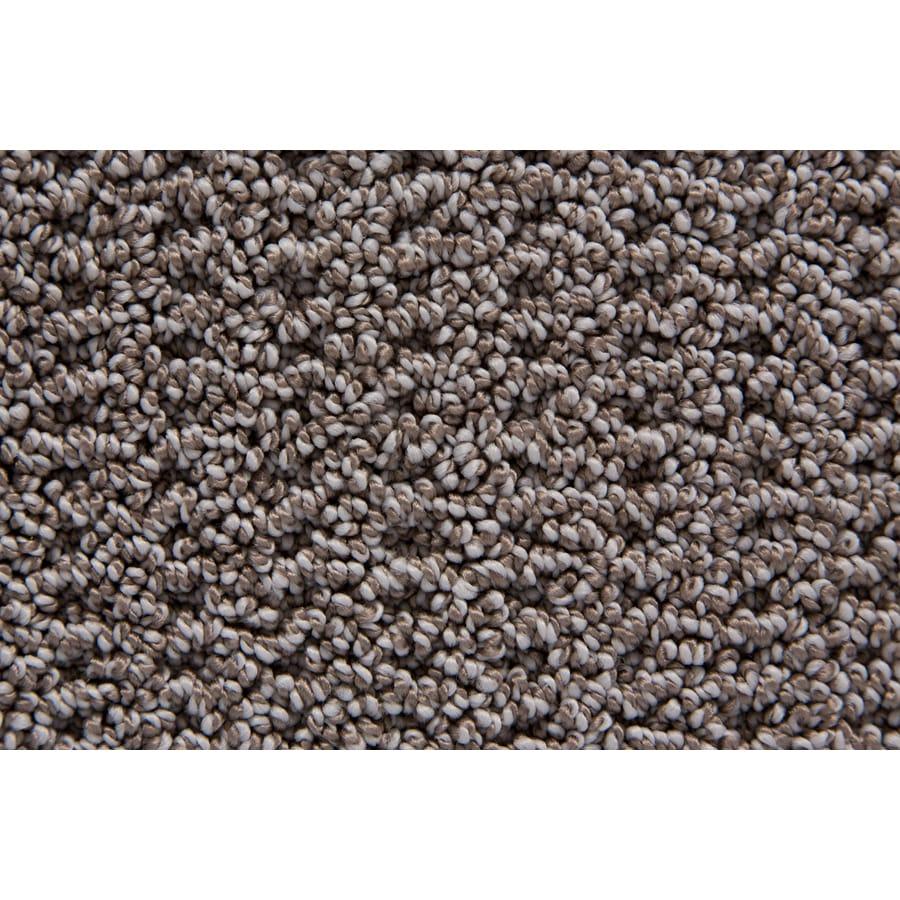 STAINMASTER Merriment TruSoft Silvertaupe Berber Carpet Sample