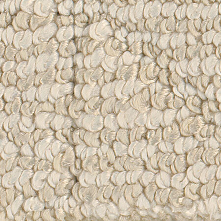 STAINMASTER Active Family Canoe Ivory Linen Carpet Sample