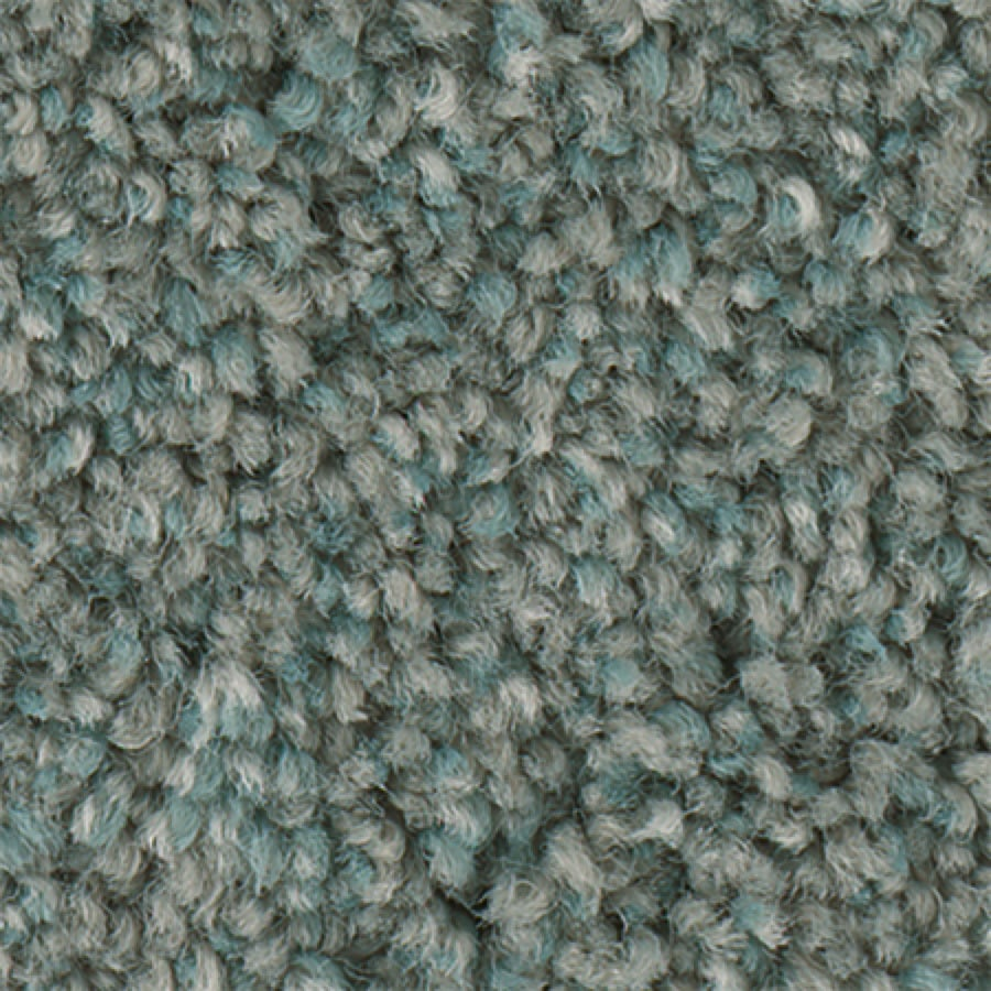 STAINMASTER PetProtect Foundry II 12-FT Blue Ice Carpet Sample
