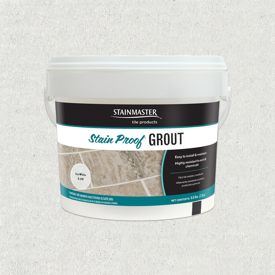 STAINMASTER Classic 5.5-lb Ice White Sanded/Unsanded Epoxy Grout