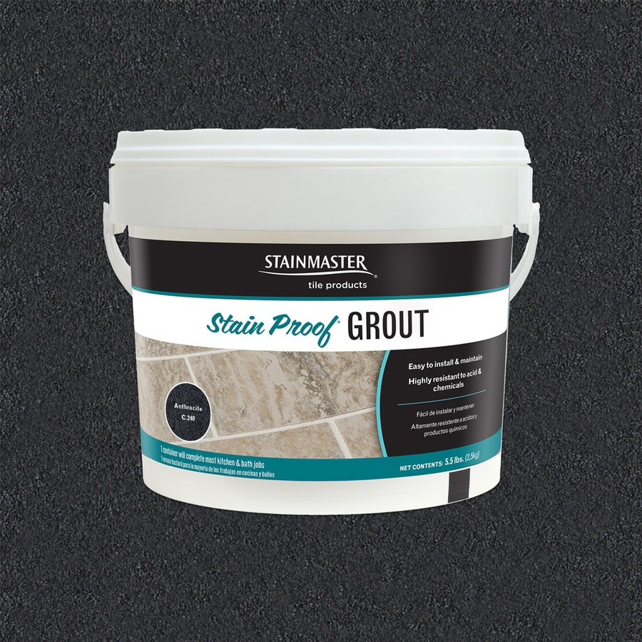Stainmaster Clic 5 Lb Anthracite Sanded Unsanded Epoxy Grout