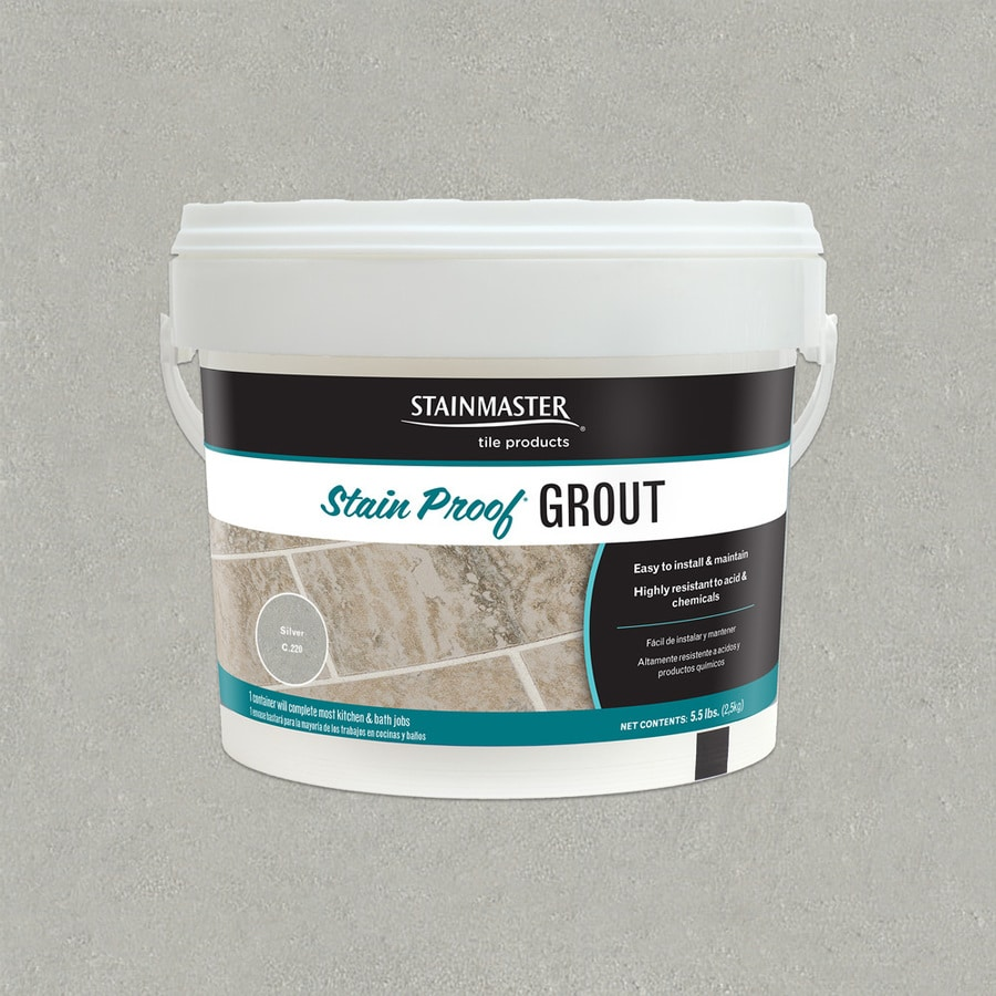 STAINMASTER Classic 5.5-lb Silver Sanded/Unsanded Epoxy Grout