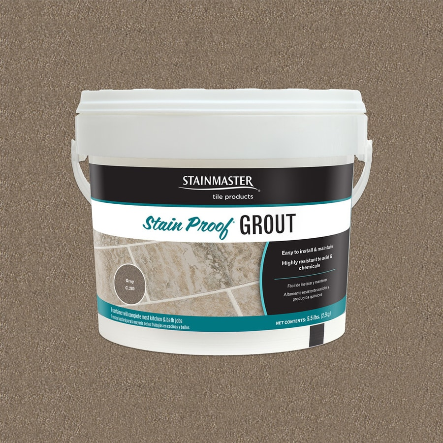 STAINMASTER Classic 5.5-lb Gray Sanded/Unsanded Epoxy Grout