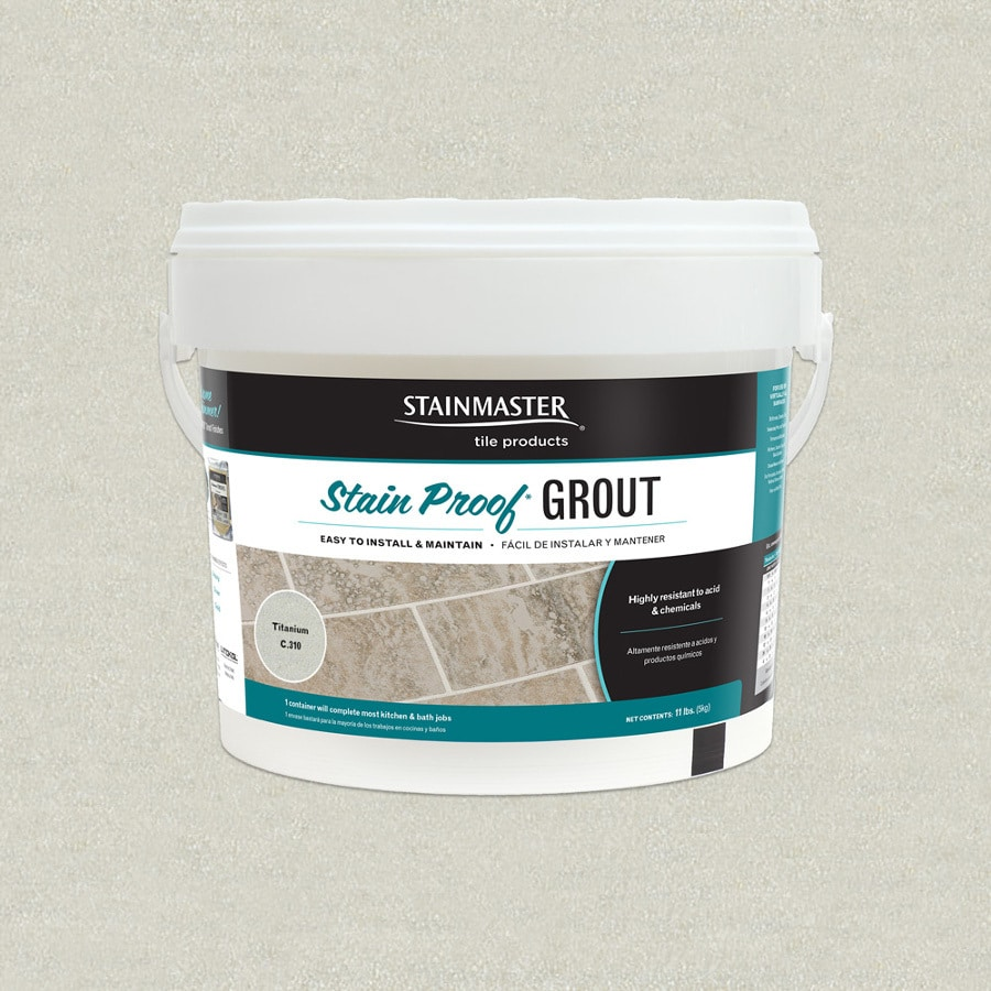 STAINMASTER Classic 5.5-lb Titanium Sanded/Unsanded Epoxy Grout