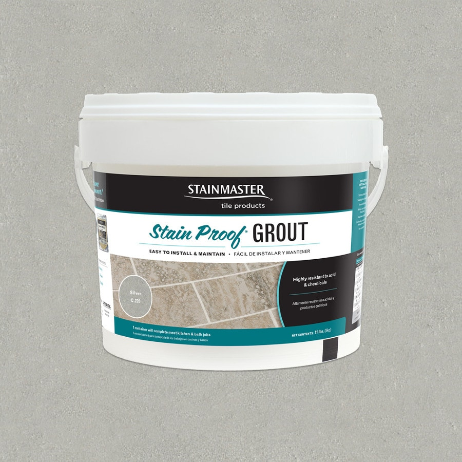 STAINMASTER Classic 11 Pound(S) Silver Sanded/Unsanded Powder Grout