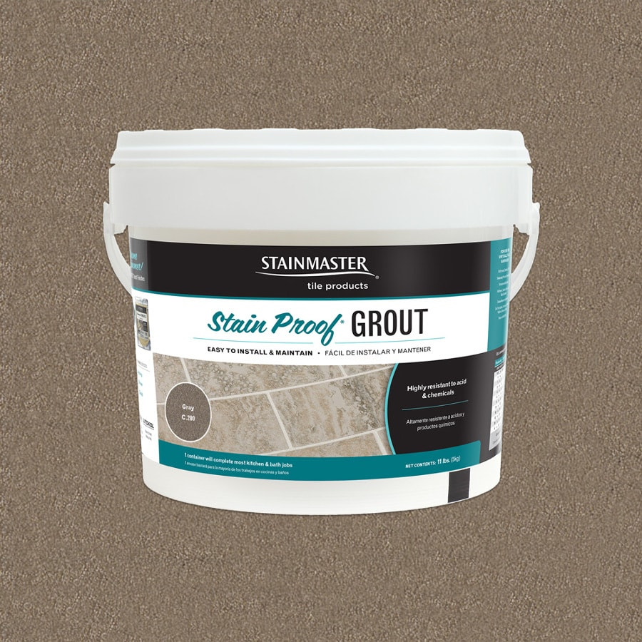 STAINMASTER Classic 11 Pound(S) Gray Sanded/Unsanded Powder Grout
