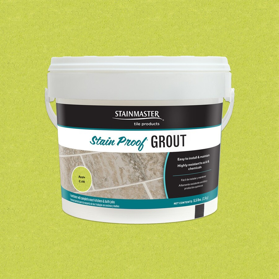 STAINMASTER Glamour 5.5-lb Apple Sanded/Unsanded Epoxy Grout