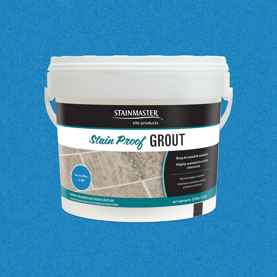STAINMASTER Glamour 5.5-lb Artic Blue Sanded/Unsanded Epoxy Grout