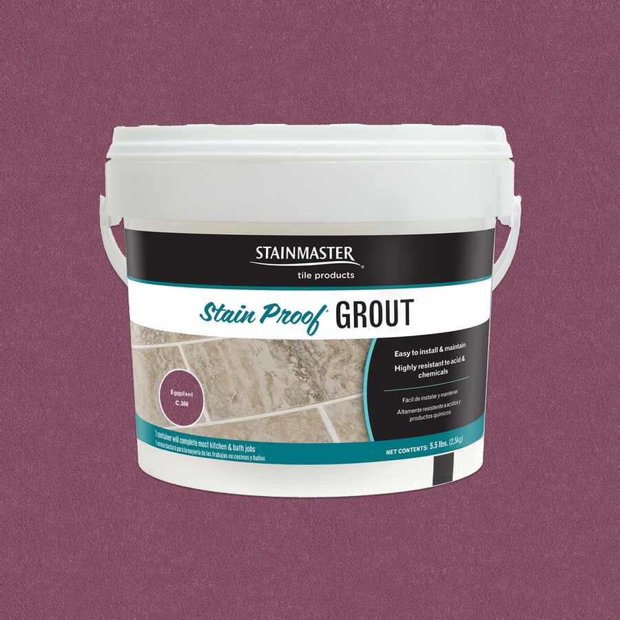 STAINMASTER Glamour 5.5-lb Eggplant Sanded/Unsanded Epoxy Grout