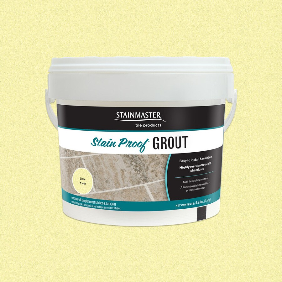 STAINMASTER Glamour 5.5-lb Lime Sanded/Unsanded Epoxy Grout