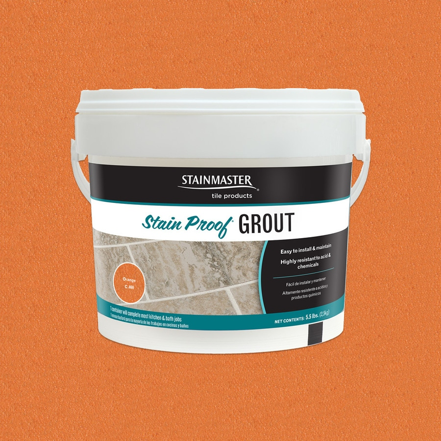 STAINMASTER Glamour 5.5-lb Orange Sanded/Unsanded Epoxy Grout