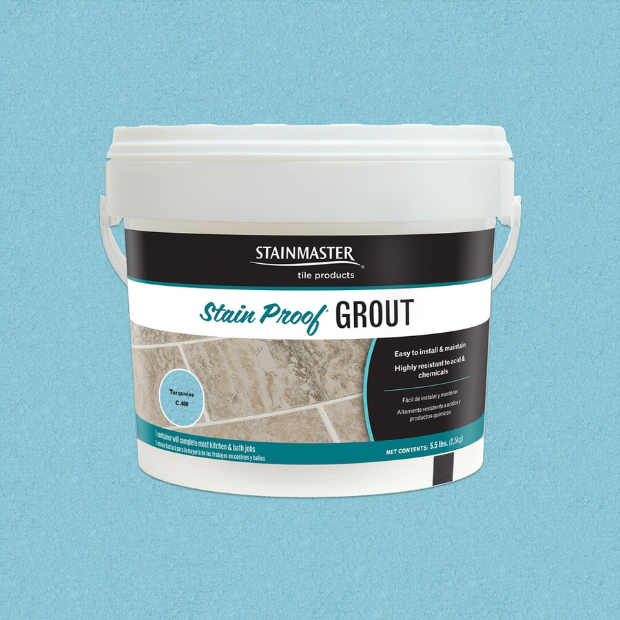 STAINMASTER Glamour 5.5-lb Turquoise Sanded/Unsanded Epoxy Grout