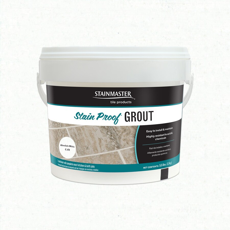 STAINMASTER Classic 5.5-lb White Sanded/Unsanded Epoxy Grout
