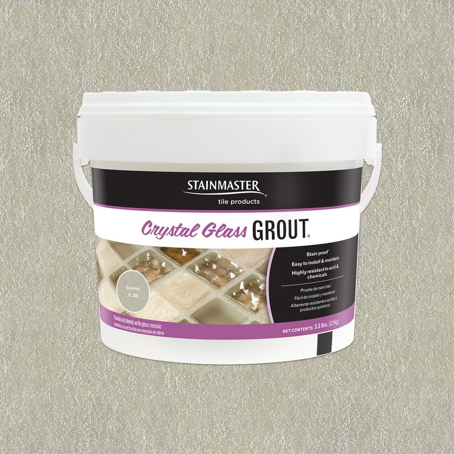Shop grout at lowes stainmaster crystal glass 55 lb crystal sandedunsanded epoxy grout nvjuhfo Image collections