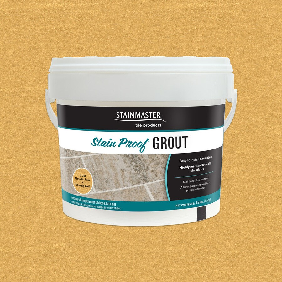 STAINMASTER Metallic 5.5-lb Gold Sanded/Unsanded Epoxy Grout