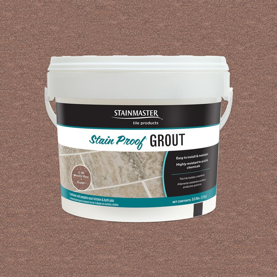 STAINMASTER Metallic 5.5-lb Copper Sanded/Unsanded Epoxy Grout