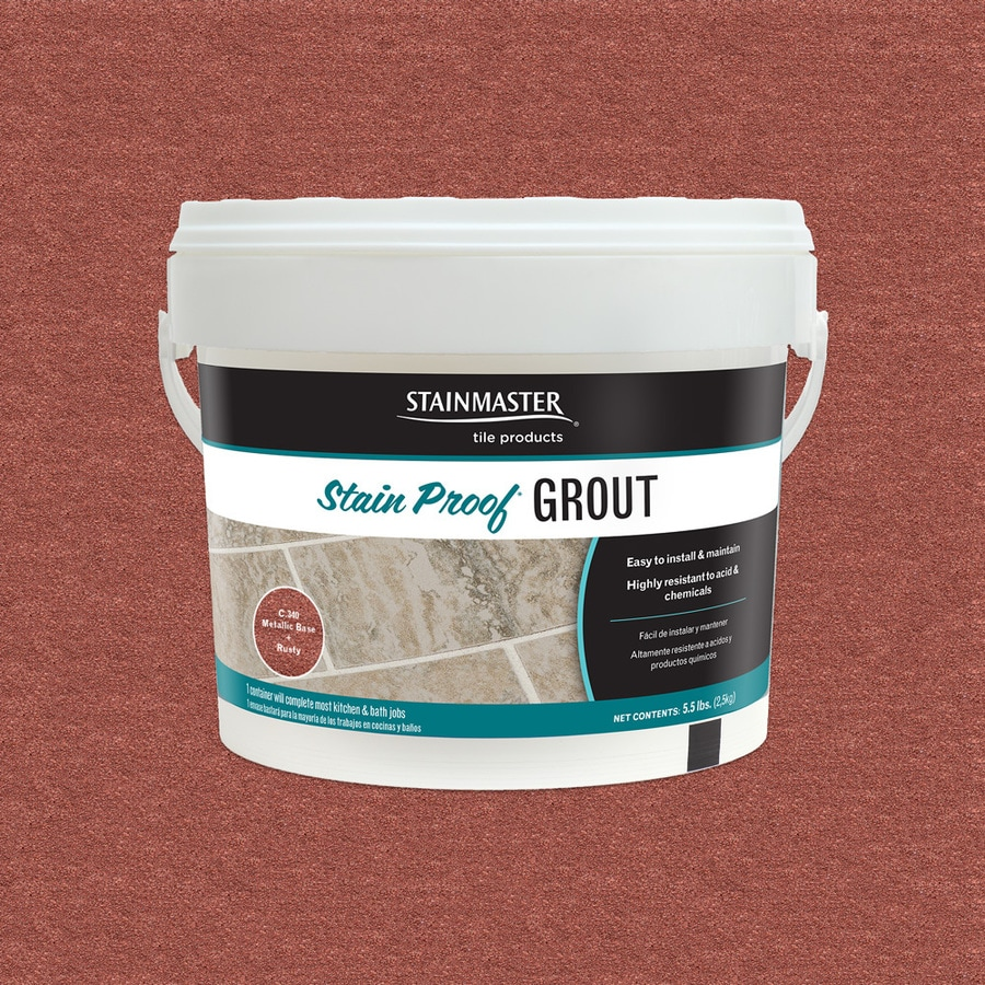 STAINMASTER Metallic 5.5-lb Rusty Sanded/Unsanded Epoxy Grout