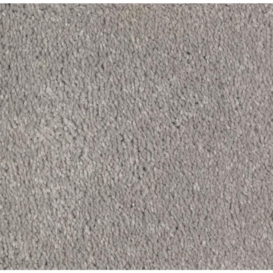 STAINMASTER Essentials Decor Flair Winter Calm Plush Carpet Sample