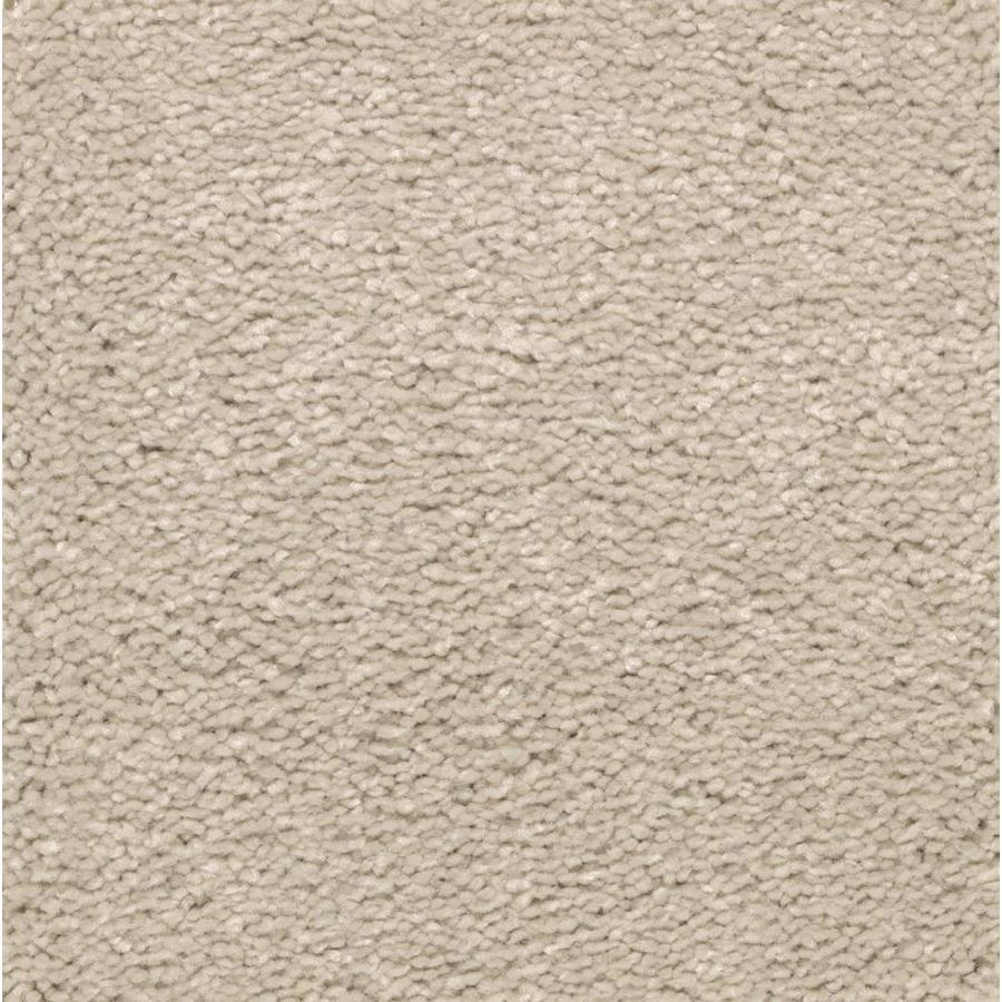 STAINMASTER Essentials Decor Flair Champagne Glee Plush Carpet Sample