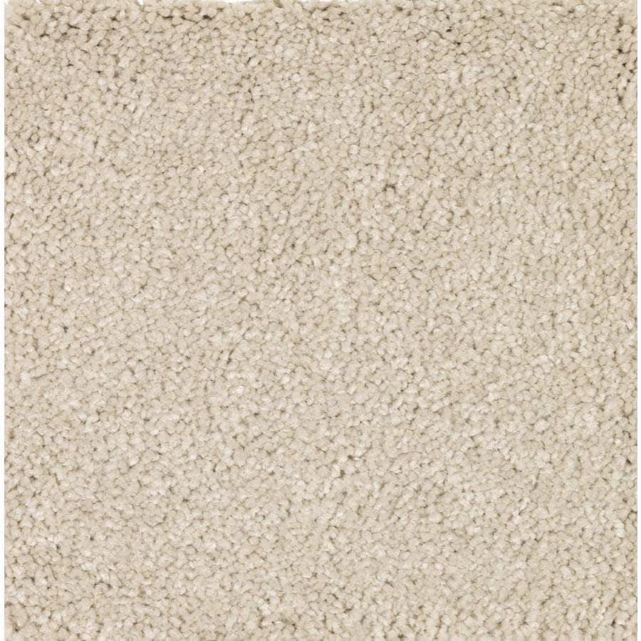 STAINMASTER Essentials Decor Flair Cream Soda Plush Carpet Sample