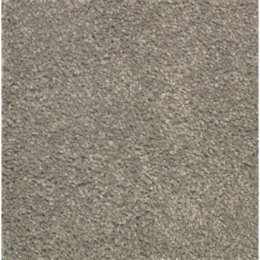 STAINMASTER Essentials Decor Flair Faint Maple Plush Carpet Sample
