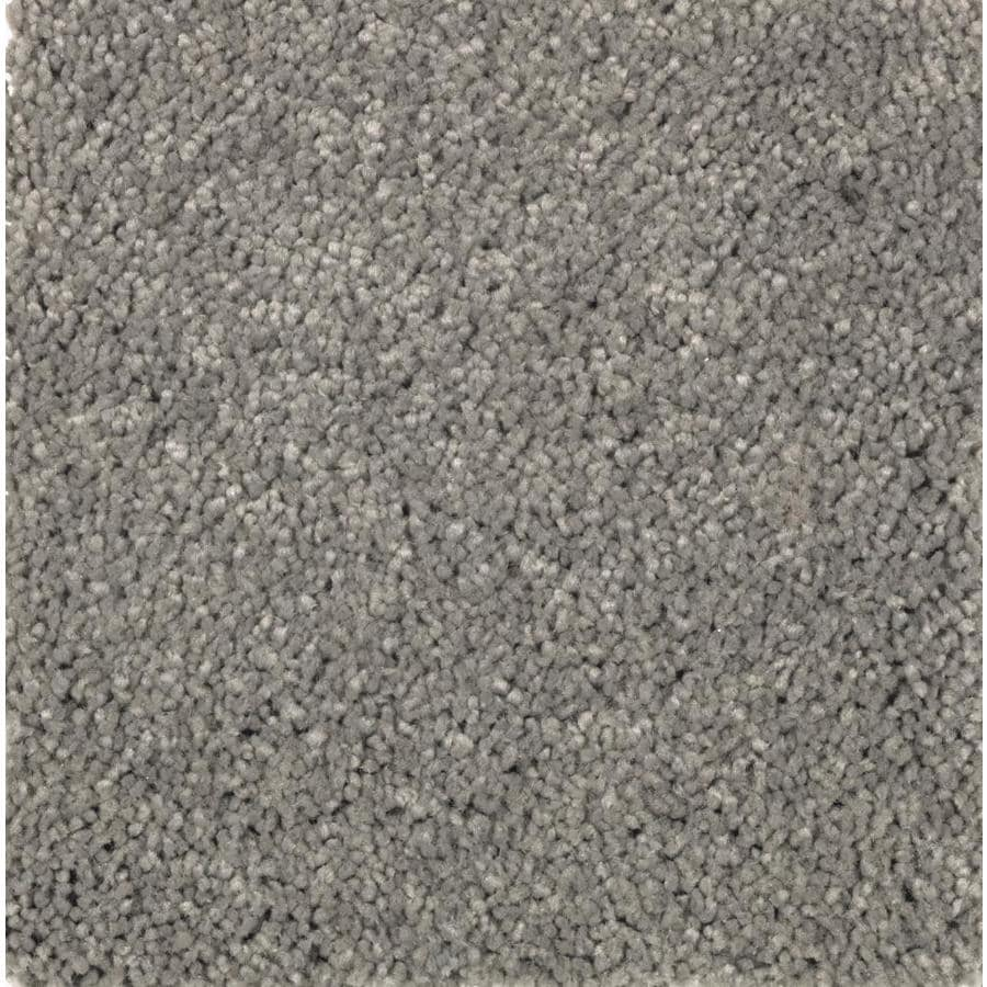 STAINMASTER Essentials Decor Fashion Granite Dust Plush Carpet Sample