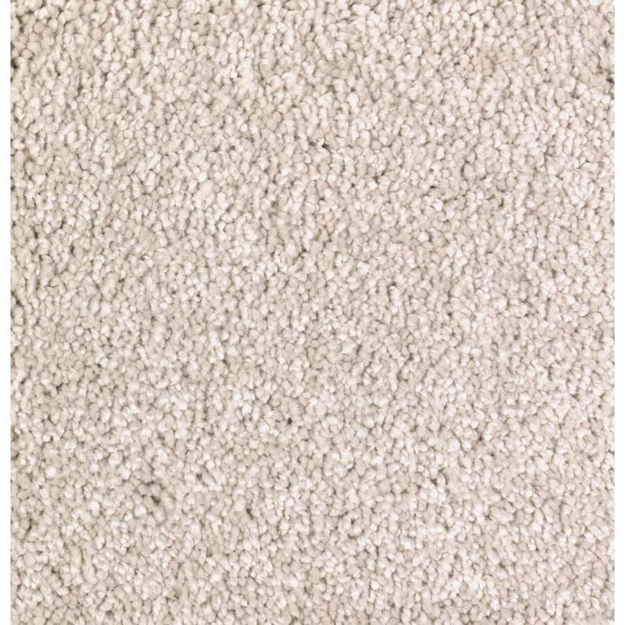 STAINMASTER Essentials Decor Fashion Champagne Glee Plush Carpet Sample